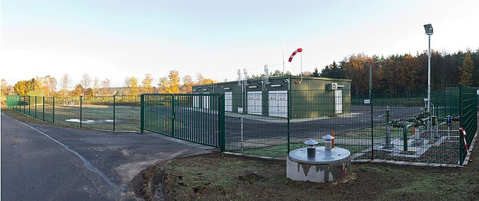Entry point for Biogas in Rosche (Lower Saxony)